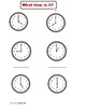 Telling Time Unit:  Telling Time  Activities - Analog and Digital