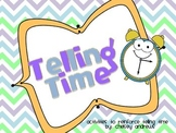 Telling Time Pack {Centers to Reinforce Time}