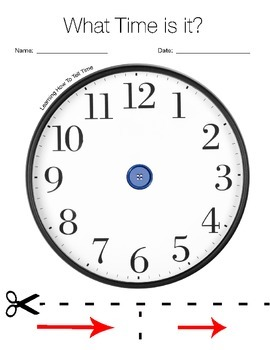 Telling Time Activity