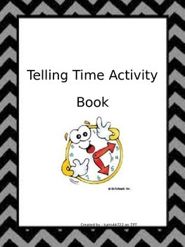 Telling Time Activity Book