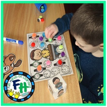 Telling Time Activity Centers {8 Centers}