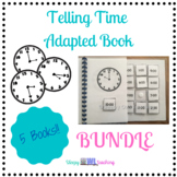 Telling Time Adapted Book Bundle