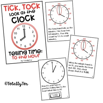 Telling Time Adapted Books Bundle
