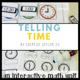 Telling Time Interactive Math Unit