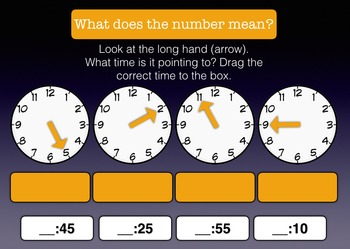 Telling Time - Analog Clock Activity