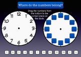 Telling Time - Analog Clock Activity