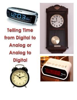 Telling Time Analog & Digital