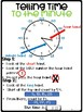 Telling Time Anchor Charts
