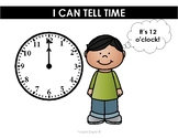 Telling Time Anchor Charts/Book