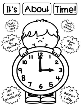 Telling Time Anchor Charts Made Easy