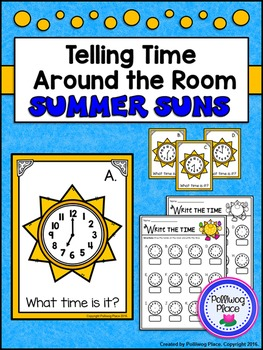 Telling Time Around the Room: Summer Suns