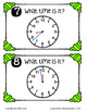 Telling Time Around the Room (Time to the Minute, Five Minutes, Half Hour)