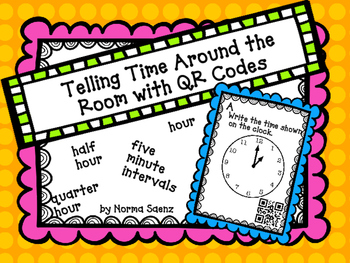 Telling Time Around the Room with QR Codes