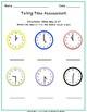 Telling Time Assessment