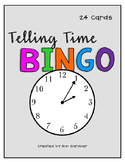 Telling Time BINGO - Nearest 5 Minutes