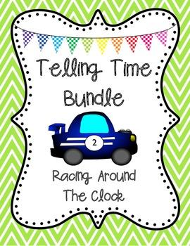 "Telling Time BINGO ""Racing Around the Clock"" 25 Pre-Made C"