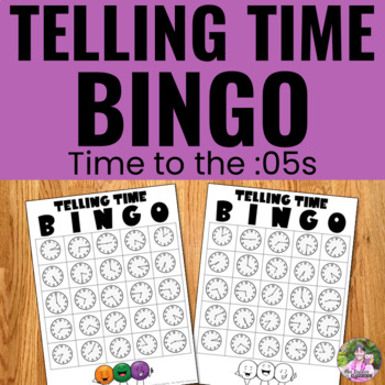 Telling Time - Time to the :05s Game