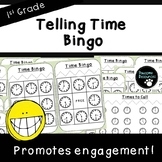 Telling Time Bingo (First Grade-1.MD.3)