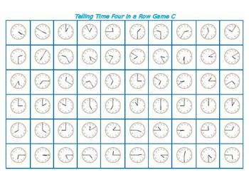 Telling Time BONGO Revised