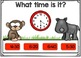 Telling Time BOOM CARDS