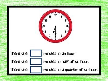 Telling Time - to the 5 Minutes BOOM Cards! (24 Self-checking Cards)