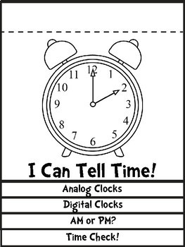 Telling Time to the Hour, Half Hour, and Minute Activity Bundle