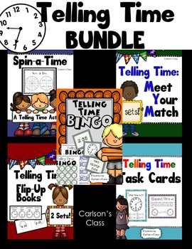 Telling Time BUNDLE