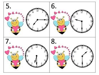 Telling Time BUNDLE--3 Sets of 240 task cards each