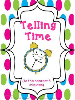 Telling Time BUNDLE Student Practice Books