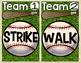 Telling Time Baseball (Hour & Half Hour)