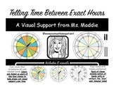 Telling Time Visual Support - Between Exact Hours