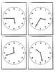 Telling Time Bingo