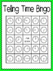 Telling Time Bingo (30 complete different cards & calling cards included!)