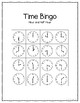 Telling Time Bingo Game (to the hour and half hour)