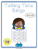 Telling Time Hour Bingo