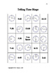 Telling Time Bingo - Telling time to 15 minute intervals version