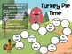 Telling Time Board Game - Turkey/Thanksgiving