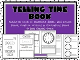 Telling Time Book {hands-on! cut & glue, illustrate and cr