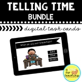 Telling Time Boom Cards BUNDLE {Distance Learning}