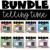 Telling Time Boom Cards Bundle Distance Learning