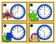 Telling Time Bug Themed Task Card Activity