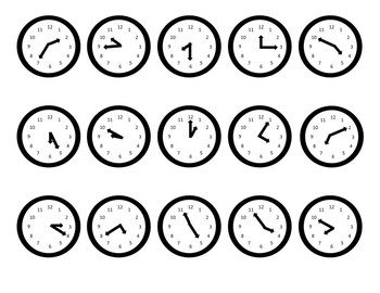 Telling Time Bump