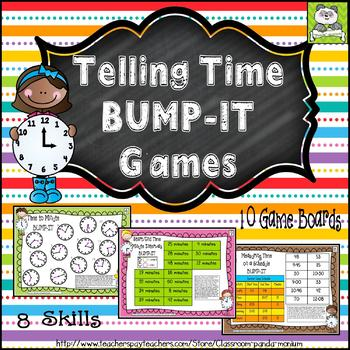 Telling Time Bump-It Pack (CC Aligned)