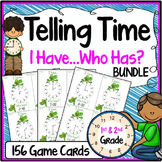 Telling Time Activity {Speaking & Listening I Have, Who Has Game}