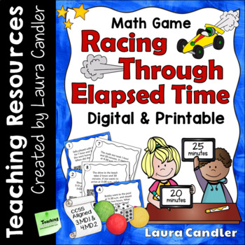 Telling Time Games and Task Cards Bundle