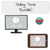 Telling Time Bundle! Boom Cards!