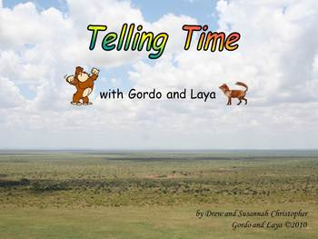 Telling Time Bundle with Gordo and Laya