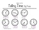 Telling Time: By Fives Worksheets 1st-3rd Grade