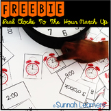 Telling Time By The Hour-Real Clocks