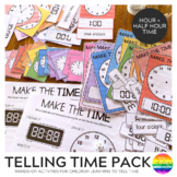 Telling Time Cards